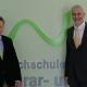 Otto Kurt Knoll und Thomas Haase. © Hochschule für Agrar- und Umweltpädagogik