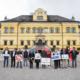 Startschuss für Österreichs Springreit-Bundesliga auf Schloss Hellbrunn in Salzburg. © Jasmin Walter