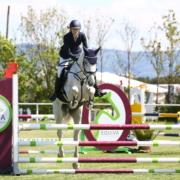 Platz 2 für Eva Schmid in der EQUIVA Trophy Bad Fischau. © M&E4U