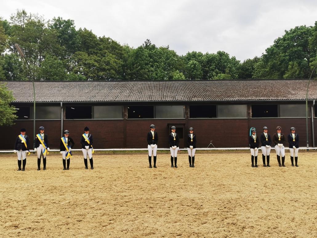 Wir gratulieren den frisch gebackenen Ländlichen Landesmeistern. © Anja Pesau