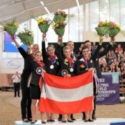 GROSSARTIG! WM-Silber für das Team Wildegg in Budapest. © Andrea Fuchshumer