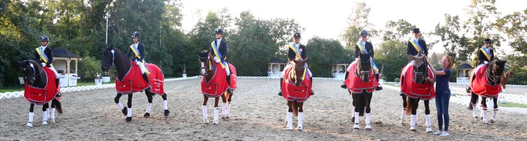 Herzlichen Glückwunsch den frisch gebackenen Niederösterreichischen Landesmeistern Dressur 2021. © M&E4U FOTO