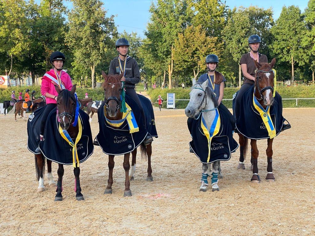 Herzliche Gratulation den frisch gebackenen Mounted Games Meistern 2021. © privat