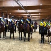 Herzliche Gratulation den Niederösterreichischen Landesmeistern Mounted Games Pairs 2021. © privat