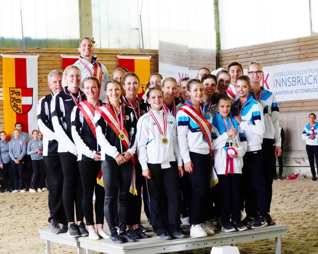 Österreichische Staatsmeisterschaften & Österreichische Meisterschaften Voltigieren 2021 in Seefeld. © Andrea Fuchshumer